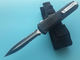 Wholesale Out Gear - Benchmade Full size 10 inch C07 double action out-the-front automatic knives 440 Steel blade 4600 camping knife survival gear contego