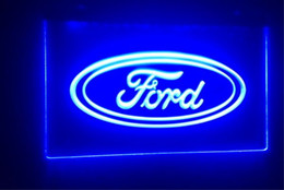 Wholesale Commercial Ford - Ford beer bar 3d signs culb pub led neon light sign home decor crafts