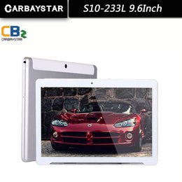 2019 2gb tablet slim Atacado-CARBAYSTAR 9,6 polegadas Octa Núcleo 1.5GHz Ram 2GB Rom 32GB Android 5.1 4G LTE Chamada inteligente Tablet PC, Suporte WCDMA / WiFi / GPS 2gb tablet slim barato