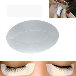 Wholesale Individual Eyelashes Extensions Kit - Eyelash extensions Under Eye Stickers Pads Patches lint free for Eyelash extensions Kits