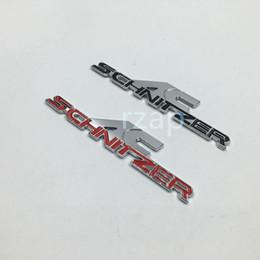 Wholesale Ac Schnitzer Badges Emblems - 2pcs lot New 3D AC Schnitzer Logo Badge Decal For BMW Car Fender Side Metal Emblem Sticker