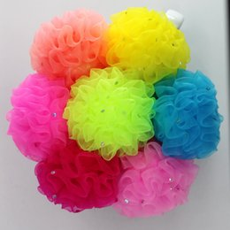 Wholesale Baby Headress - Wholesale- TS 6pcs hair accessories baby girl flower headband  candy color elastic headress flores bow tiara ties   kids hair rubber bands
