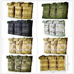 Wholesale Tactical Vest Bags - Tactical equipment manufacturers selling the Molle system of tactical vest accessory bag 1000 d nylon sanlian receive bag