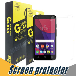 Wholesale Star Screen Protector - For Alcatel Fierce 4 Tempered Glass Screen Protector Film Anti Shatter 9H 2.5D For Alcatel Pixi4 5.0 5.5 6.0 Pop4 4+ 4s Star idol4 idol4s
