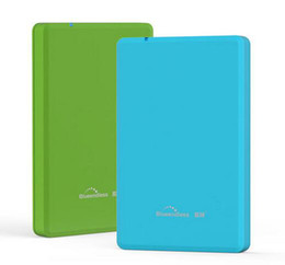 Wholesale Wholesale Hdd Cover - Wholesale- Plastic 2.5'' Hard Disk Caddy SSD HDD External Case USB3.0 sata III II I Hard Drive enclosure cover New Arrived Blueendless U23P