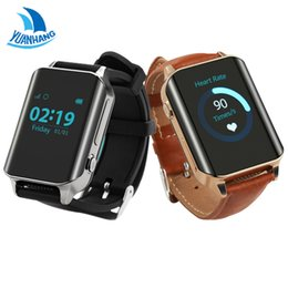 Wholesale gps tracker elder - Wholesale- Universal Watch GPS Tracker Smart GPS LBS Tracker Locator SOS call Watch For Elder Kids Heart Rate Monitor,Lifetime GPS Platform