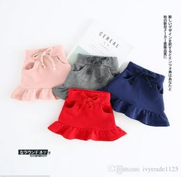 Wholesale Korean Fall Fashion Wholesale - Ins Korean style new arrivals elegant fishtail skirt cute girl fall solid colors skirts 5 colors free shipping