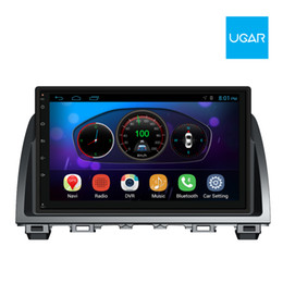 Wholesale Mazda Android Radio - 9 inch Mazda 6 Atenza 2014-2015 Quad Core 1024*600 Android Car GPS Navigation and Multimedia Player Radio Wifi
