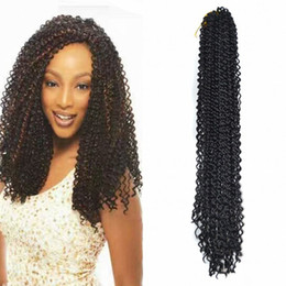 "Jumpy Wand Curl Twist Crochet Braid Jamaican Bounce Kanekalon Afro Braiding Hair Pieces Extension 60CM,24"" Coupons"