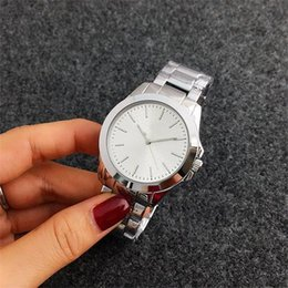 Wholesale Crystal Michael - Fashion Watches michael Quartz Watch Casual Full Steel Dial Style woman All over the sky stars Crystal Diamond Rome Word Dial Style Watches