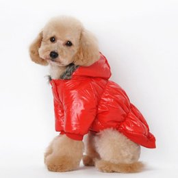 Wholesale Warm Dog Clothes Xxl - New Pet Dog Winter Clothes Oversize Coat Warm Costume Clothing Puppy Jacket Hoodie