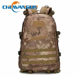 Wholesale Male School Bags - Wholesale- Chuwanglin Men's backpack Multi-function 3P camouflage 40L Waterproof male backpack school travel laptop bag ZDD9122