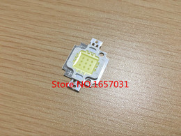 Wholesale Taiwan Chip - Wholesale- 5pcs lot 10W LED Integrated High power LED Beads White 9.0-12.0V 900-1000LM 24*40mil Taiwan Huga Chips