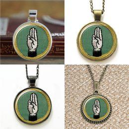 Wholesale Pendant Girl Bracelet - 10pcs Girl Scout Retired Cadette World Languages Jewelry Glass Photo Necklace keyring bookmark cufflink earring bracelet