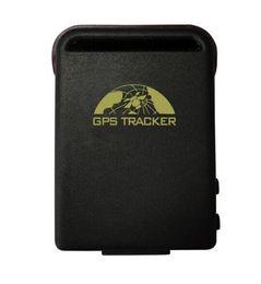Wholesale Personal Build - GPS102B personal GPS tracker TK102B Memory Slot built-in Shock Sensor Sleep Function GPS tracker for pets kids no retail box