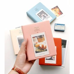 Wholesale Fuji Instax Mini 7s - 64 Pockets Instant Mini Picture Album Case For Fuji Instax Mini 7s 8 25 50s 90