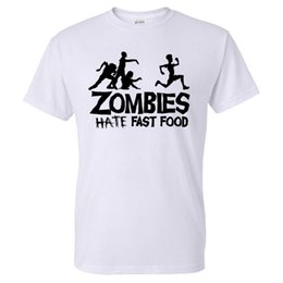Wholesale Glow Tshirt - Wholesale- Summer Men T Shirts Zombies Funny Slogan Top Tees Glowing Swag Short Sleeve Cotton T-shirt O-Neck Casual Print Tshirt Plus Size