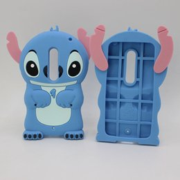 Wholesale Iphone G Cases - 3D Cartoon Lilo Stitch Casing Rubber Phone Case For Motorola Moto G G2 G3 G4 Plus G4 Play X Play LG Magna K7 K8 X Screen Silicone Gel Cover