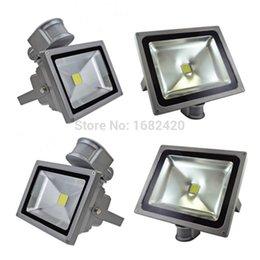 Wholesale Pir Sensor Time - Wholesale- Free shipping 110V 220V Input PIR LED flood light 10W 20W 30W for Solar system with Motion Sensor Time Lux adjust