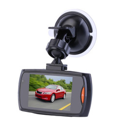 "Wholesale display mirrors - Send free -G30 2.4"" Car Dvr 120 Degree Wide Angle Full 720P Car Camera Recorder Registrator Night Vision G-Sensor Dash Cam"