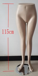 Wholesale female mannequin foot - FreeShipping! EMS stand mannequin foot,female manikin pants lower body,model mold three-dimensional model leggings models show props,M00411