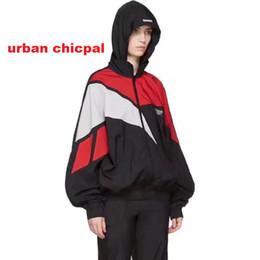 Wholesale Cool Windbreaker Jackets - 2017 cool hot hip hop vetements waterproof zipper up men unisex windbreaker jacket