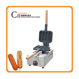 Wholesale Waffle Dog Maker - Well-selling Commercial Gas Corn Dog Maker Waffle Stick Maker in Stock