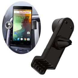 2017 gps de montage d'évent Vente en gros de voiture Air Vent Mount Holder pour GPS Movil Suporte Para Celular pour Oneplus 3 A3000 2 1 Stand Support pour One Plus 3T Phone Holder abordable gps de montage d'évent