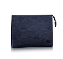 Wholesale Large Cosmetic Travel Clutch - Excellent Toiletry Pouch 26 19 Cosmetic Bags World Tour Toiletry 26 Clutch Large Makeup Bag Brand Real Leather Women Travel Dopp Bag M47542