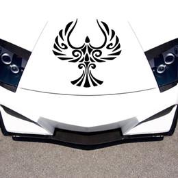 Ilustrações de car designs on-line-Carro Stying Vinyl Decal Gráficos de Design de Adesivos de Carro Phoenix Pássaro Criativo Adesivos JDM