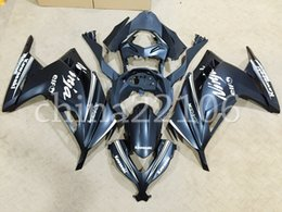 Wholesale Matte Black Fairings - New Motorcycle Fairings fit For Kawasaki Ninja300 EX300R 2013 2014 2015 2016 Injection mold ABS Fairing Kit Cowlings black matte