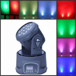 rueda de gobo Rebajas Barra KTV7 LED cabeza móvil luz 70 w haz de luz a todo color cabeza móvil luz etapa