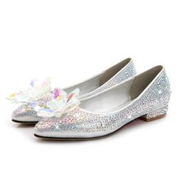 2019 женщины на каблуках Золушка вдохновил материнства свадебные свадебные туфли 2017 квартиры Flatforms партия вечерняя обувь для беременных Bling Bling плюс размер небольшой