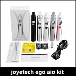 Wholesale Ego Kits - Hot selling eGo AIO Kit With 2.0ml Capacity 1500mAh Battery Anti-leaking Structure and Childproof Lock All-in-one style Device