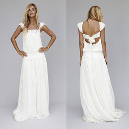 f75656917f Wedding Dress Drop Waist Lace Sleeves Coupons, Promo Codes & Deals ...