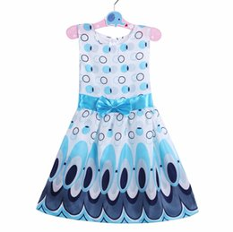 Wholesale Dress Patterns For Children - Children Baby Girl Autumn Butterfly pattern Dress Kids Loose Asymmetric Girls Dress For Kids Costume Casual