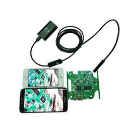 Wholesale Borescope Iphone - Wifi Inspection Camera Wifi Endoscope Camera 3.5M Iphone Endoscope Borescope Waterproof Camera Endoscopio Android iOS Wifi Endoskop