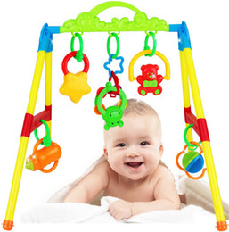 Wholesale Mat Activity Gym - Wholesale- Hotsale New Infant Multifunctional Music Intelligence Game Mats Baby Activity Play Mat Baby Gym Educational Fitness Frame Toys