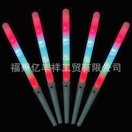 Wholesale Wholesale Glow Sticks Accessories - 2 9yf Flash Noctilucent Cotton Candy Led Stick Luminous Thread Bar Fluorescence Sticks Glowing Toys Light Up Decoration Supplies Party Cheer