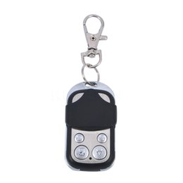 Wholesale Gate Transmitters - Wholesale- Universal Wireless Remote Control 433Mhz Receiver Module Transmitter Electric Cloning Gate Garage Door Auto Keychain Hot
