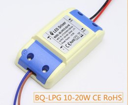 Wholesale Led 18 W - 20 w 18 w 15 w 300 ma LED constant current drive power supply, high PF CE