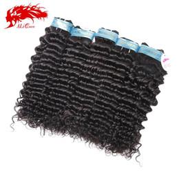 "Wholesale Wholesale Virgin Burmese Hair - Wholesale-Wholeslae same size 10pcs lot virgin peruvian hair extensions peruvian deep wave10-26""about 3.5oz pc"
