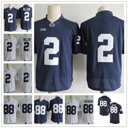 Penn State Nittany Lions 88 Mike Gesicki 2 Marcus Allen 26 9 No Name Navy  Blue White Stitched Mens Womens Kids College Football Jerseys 59d60b61a