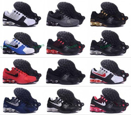 Wholesale New arrival Drop Shipping Famous Shox NZ Shox Avenue Mens Athletic Sneakers Sports Running Shoes Size