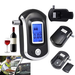Wholesale Lcd Breath Alcohol Tester Analyzer - Portable Smart Breath Alcohol Tester Digital LCD Breathalyzer Analyzer AT6000