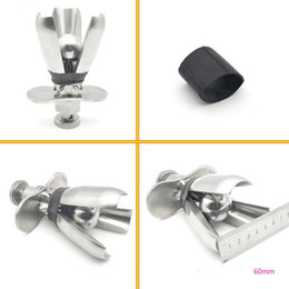 Wholesale wholesale large metal butt plugs - 2017 New Stainless Steel large Size Anal Plug Lock Metal Butt Plug BDSM Anal Sex Toys+pussy Vibrator+Dong