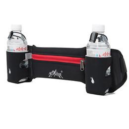 Wholesale Football Wallets - Wholesale- AONIJIE Professional Running Waist Bag Water Bottle Pockets Belt Outdoor Sports Travel Cycling Climbing Body Waist Zip Wallet