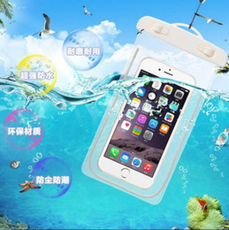 Wholesale Cell Vision - Universal Night Vision water proof case for samsung s7 s6 Iphone 7 6 6S Plus,Cell Phone Dry Bag waterproof phone bag