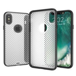 Wholesale Ten Phones - For iPhone X 10 Ten Hybrid Rugged Hard Phone Back Case 3 in 1 Shockproof Shell for iPhone10 i8