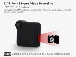 Wholesale Ip Cam H 264 - C1 10PCS 720P Camera Wifi IP 720P HD Body Camera H.264 P2P Motion Sensor Micro Camera Digital Video Camcorder Wireless Bike Cam AT
